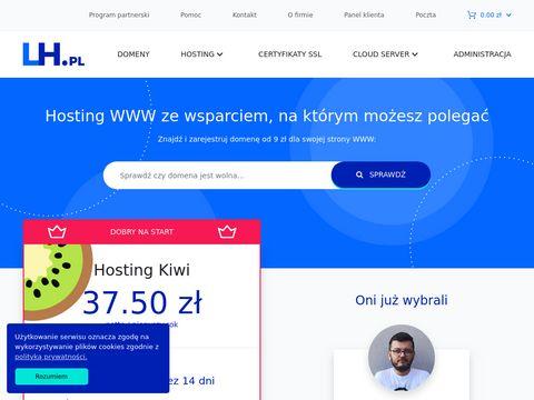 LH.pl - polskie serwery www