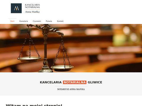 Notariusz-gliwice.com.pl