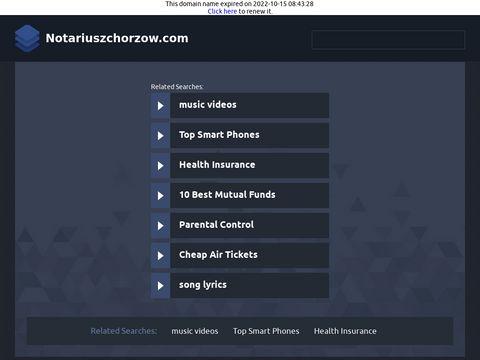 Notariuszchorzow.com