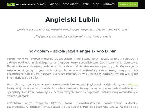 Noproblem.edu.pl - angielski online