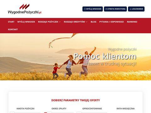 Wygodnepozyczki.pl - kredyt online