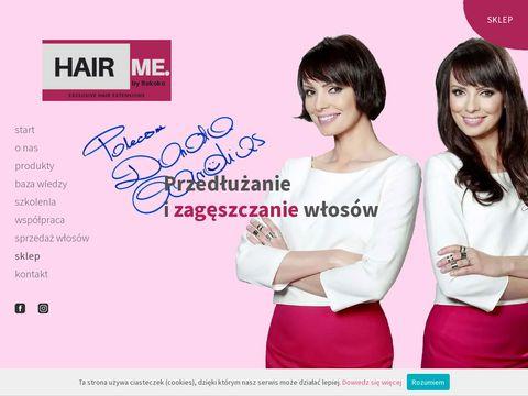 Hairme.pl - tape-in włosy