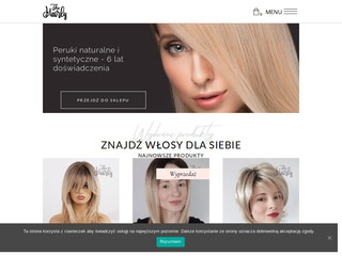 Hairly.pl - peruki naturalne sklep
