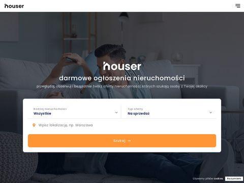 Houser.pl oferty nieruchomości on-line