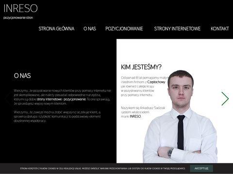 Inreso.pl strony internetowe