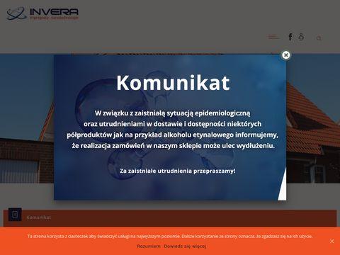 Invera.pl usuwanie wykwitów solnych