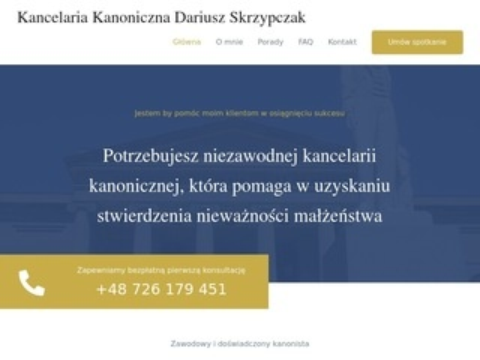 Kancelariakanoniczna-skrzypczak.pl