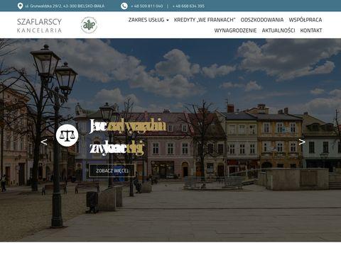 Kancelariaszaflarscy.pl prawnik Bielsko
