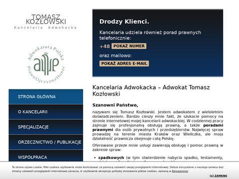 Kozlowski-adwokat.pl kancelaria