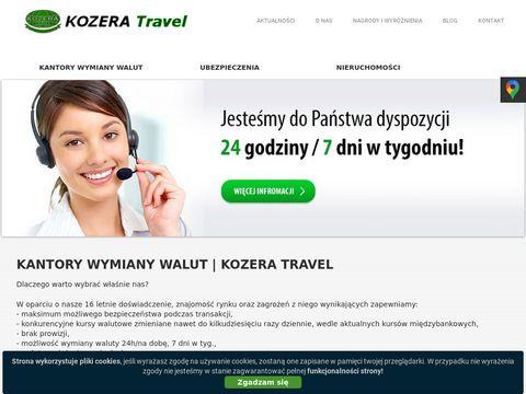 Kozera-travel.pl tani kantor wymiany
