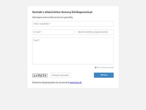 Klinikagenesis.pl Kraków