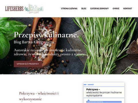 Lifesherbs.pl - ziołowa regeneracja