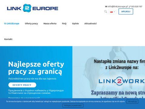 Link2Europe - agencja pracy