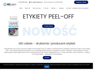 MD Labels producent etykiet