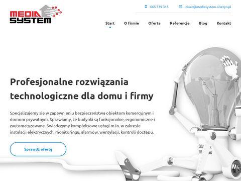 Mediasystem.olsztyn.pl bramy garażowe