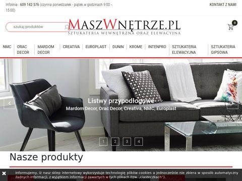 Maszwnetrze.pl listwy mardom decor