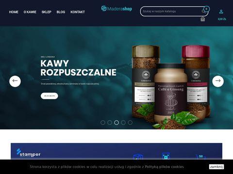 Maderashop.pl kawa z Włoch - ziarnista