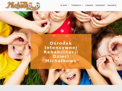 Michałkowo - rehabilitacja dzieci