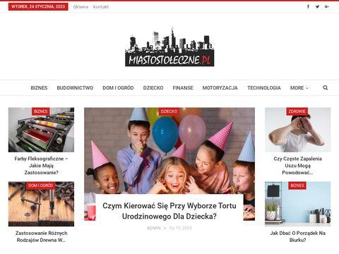 Miastostoleczne.pl finanse i bankowość