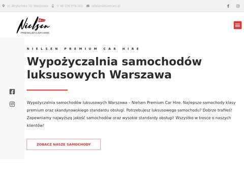 Nielsen Cars - wynajem aut Warszawa