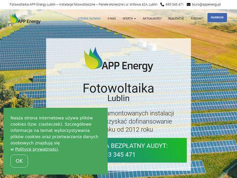 APP Energy sp. z o.o. fotowoltaika