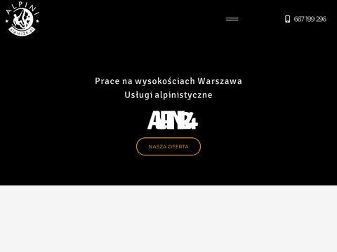 Alpini24.pl - firma alpinistyczna