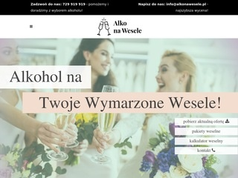 Alkonawesele.pl - softy na wesele