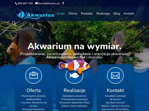 Akwarlux - budowa akwariów