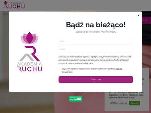 Akademiaruchu.com.pl szkoła jogi