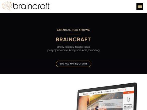 Agencja Reklamowa BRCR strony www