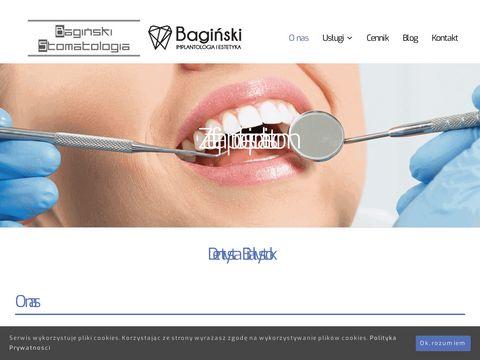 Baginskistomatologia.pl Białystok