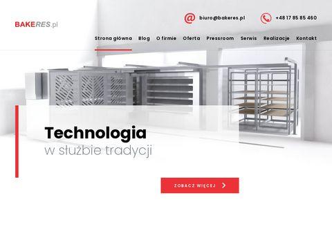 Bakeres.pl linie do bułek i chleba