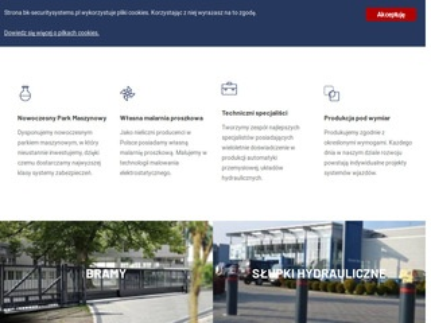 Bk-securitysystems.pl producent bram