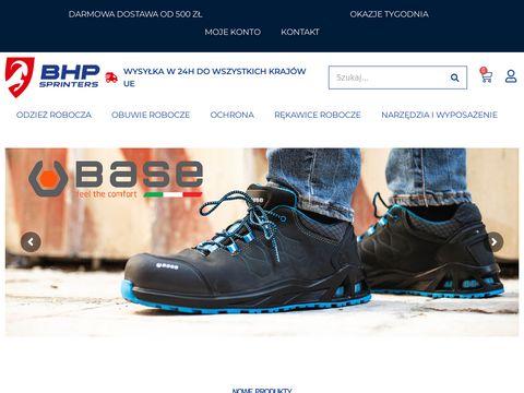 BHPSprinters odzież robocza