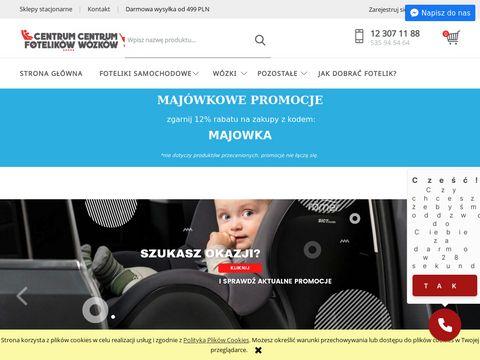 Centrumfotelikow.pl wózki dziecięce
