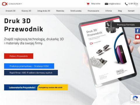 Cadxpert.pl skanowanie wydruki 3D