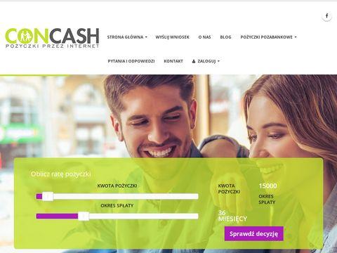 Concash.pl - prywatna pożyczka