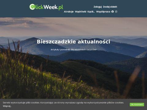 ClickWeek.pl - noclegi w Bieszczadach
