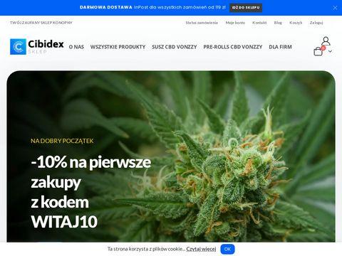 Cibidex.pl - produkty CBD