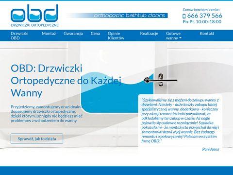 Drzwiczkiobd.pl - wanna z drzwiami