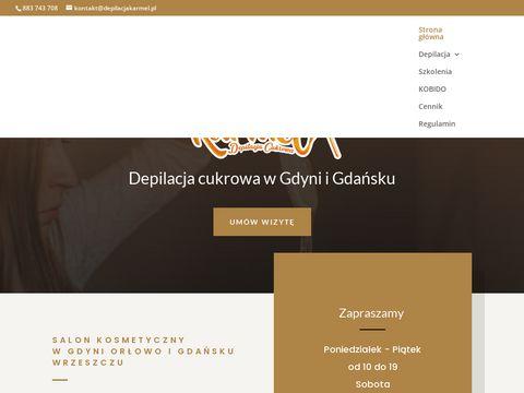 Karmel gabinet kosmetyczny w Gdyni