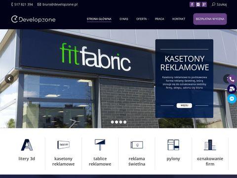 Developzone.pl firma reklamowa Łódź