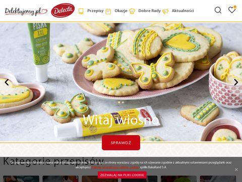 Delektujemy.pl - przepisy na desery