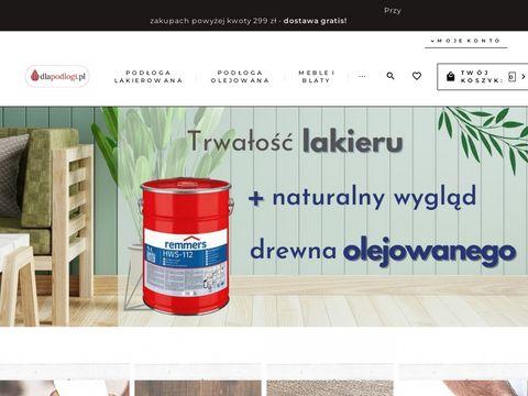Dlapodlogi.pl sklep ze środkami