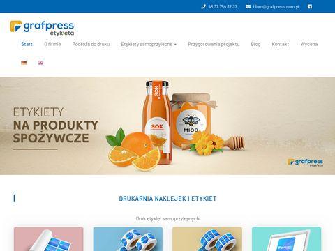 Grafpress - drukarnia etykiet