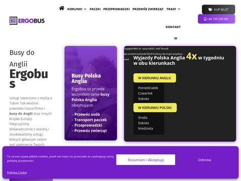Ergobus.eu super busy Polska Anglia