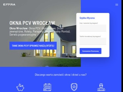 Effra okna PCV Wrocław