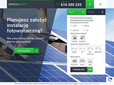 Eergiadirect.pl sprzedawcy energii