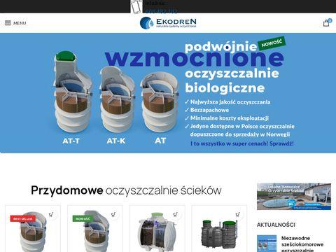 Ekodren.pl przydomowe oczyszczalnie