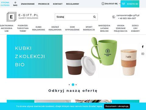 E-gift.pl gadżety reklamowe dla firm